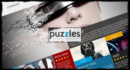 Тема Puzzles 3.2 [WordPress]