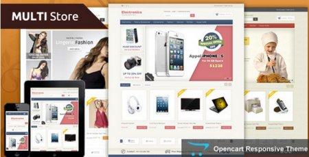 Премиум шаблон Multi Store [OpenCart]